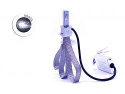 Комплект LED ламп T30 H3 6000K 9-32V гибкий радиатор (диод PHILIPS)