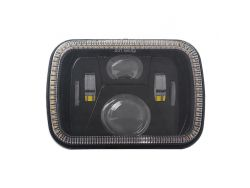 Прямоугольная фара рабочего света JR-5'-40W ближний/дальний + DRL}