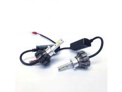 LED комплект  S5 H3 6000К 12-24V 15W с радиатором (диод 3570)}