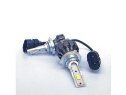 LED комплект  S5 HB3 6000К 12-24V 15W с радиатором (диод 3570)}
