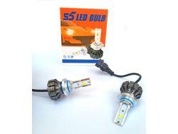 LED комплект  S5 HB4 6000К 12-24V 15W с радиатором (диод 3570)}