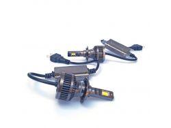 LED комплект F8X H7 6000K 9-32V 26W с радиатором (диод 3570)}